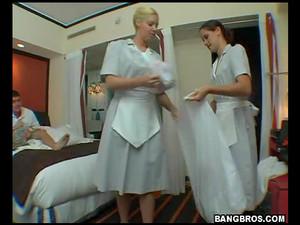 Czworokąt,Hotel,Pokojówka