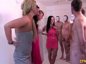 Amateur Homemade Video Of Glamour Sluts Pleasuring Lot Of Dicks