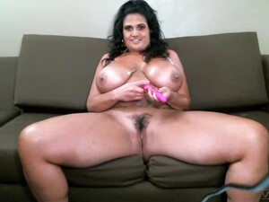Busty Mature Kailani Kai Drops Her Bikini To Masturbate At Home
