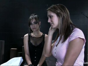 Trina Michaels Gets Punished By Hot Sasha Grey In BDSM Vid