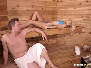 Bikini,Çift,Köpekleme tarzı,Doğal,Sauna