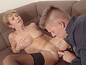 Romana Is A Slutty Granny Who Looks Great And Likes To Fuck Only Younger Guys