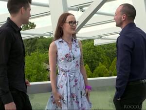 Two Dudes With Massive Cocks Fucks Both Holes Of Russian Hooker Sasha Sparrow
