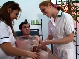 Dick Massage By Dirty Experts Kimberly Scott And Trinity. HD