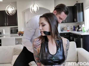 Gagged Babe Ends Up Being Fucked In Merciless Games