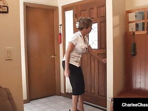 Dick Sucking Charlee Chase & Amber Lynn Bach Love Hard Cock!
