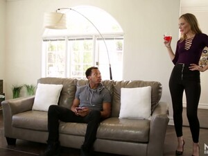 Mona Wales Is A Voracious For Semen Blondie Who Loves To Suck BBC