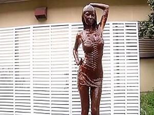 Chocolate Dance Girl