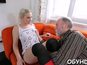 Old Guy Seduces  Babe Teen Feature 4