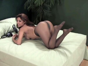 Sexy Asian In Pantyhose