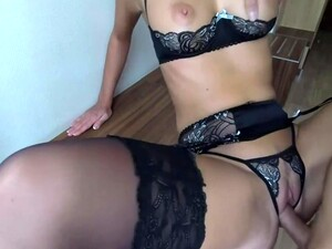Sex At The Hotel In Naughty Little Lingerie