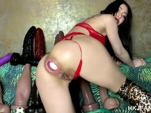 Hkjfans Anal Prolapse Bellybulge Fisting Huge Dildos Xo Speculum Amp Much More Site By Hotkinkyjo