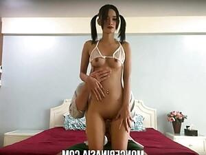 Hidden Cam Captures Thai Teen Hooker Fucking