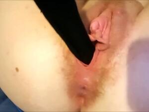 Stuffing Socks In Both Holes
