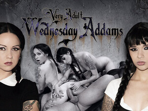 Ramon Nomar & Necro Nicki & Judas In Very Adult Wednesday Addams - Afterparty Scene