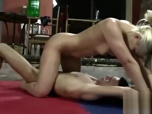 Guy Gets One On One Wrestling Training
