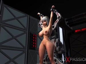 Hard Fuck In The Sci-fi Lab! Hot Blonde Gets Fucked By Space Soldier