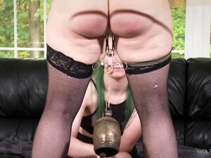Paige Pierce And Ami Mercury Adore Spanking And Lesbian Licking