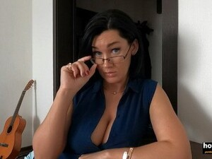 Real MILF Step Aunt Teaches Not Only Math