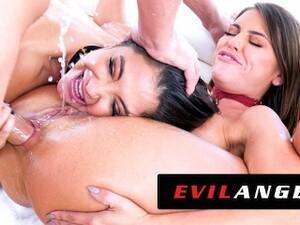 EvilAngel - Jane Wilde & Adriana Chechik Out-Slut Themselves