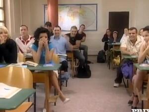 Schule,Paar,Gruppensex,Orgie