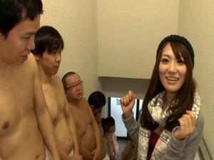 Desirous Japanese Pornstar Enjoys Enjoys A Hardcore Gang Banging Session