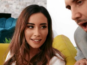 Sensual Fucking With Beautiful Aria Lee Ends With Cum In Mouth