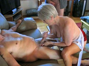 My Horny Old Wifey Is An Amazing Woman Who Loves To Jack Me Off On Camera