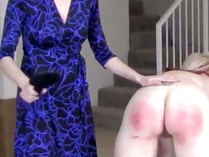 Blonde Paddled By Mistress