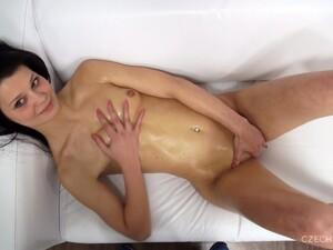 Brunette,Casting,Porno Tchèque,Vue subjective,Solo