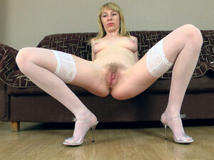 Natinella Dances And Then Masturbates On A Couch - Compilation - WeAreHairy