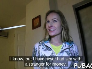 Slutty Skank Will Do Anything For Some Extra Cash