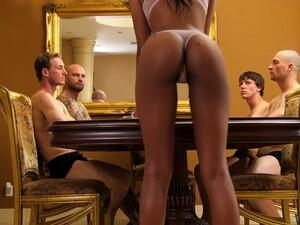 Four White Dudes Fuck Sex-starved Black Hooker Alexis Avery