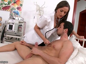 Sexy Nurse In Uniform Kendra Star Gets Intimate With Her Patient