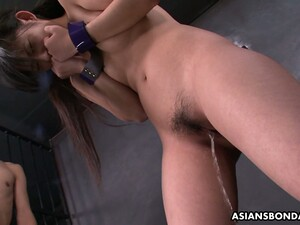 Asian Prisoner Sayaka Is Fucked And Jizzed By Several Kinky Dudes