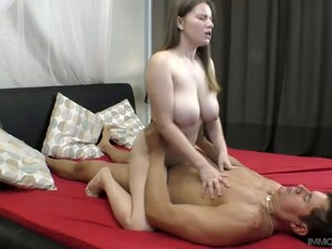 Ardent Though Pale Natural Cowgirl Alice Wayne Gives BJ And Rides Fat Cock