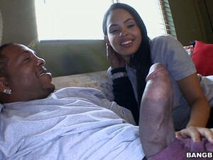 Huge Black Dick Penetrates Stretched Twat Of Picked Up Whore Angelina Stoli