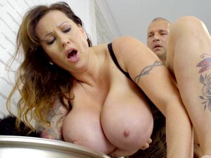 Tall Hungarian MILF With Huge Natural Boobs Loves To Get Fucked Properly