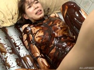 Dirty Food Sex With A Stunning Japanese Model Who Loves It Hard