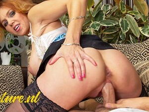 MatureNL Stepmom Gets Ass Fingered And Pussy Slammed By Big Toyboy Dick POV