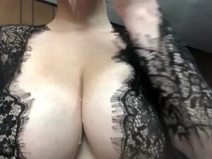 Your Big Titty Goth Girlfriend Plays With Her Tits For You