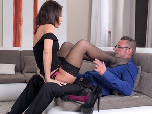 Erotic Foreplay With Footjob Included Leads To Intense Fucking
