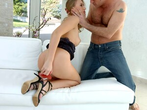 Milana Blanc Lets An Experienced Guy Get Nasty With Her Butt Hole