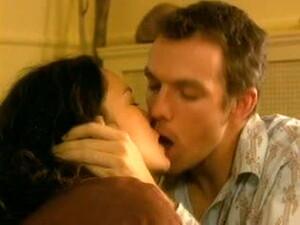 Jennifer Podemski - Bliss (Threesome Erotic Scene) MFM