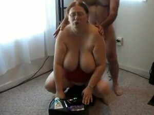 My Juggy And Big Bottomed BBW Wife Is Testing New Sybian