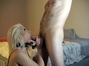 Smoking Hot Blonde Loves Sucking My Cock And Aims To Please Like The Perfect Pet She Is