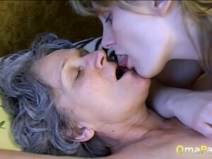 Amateur Lesbian Grannies Compilation Is Playing With Her Old Pussy