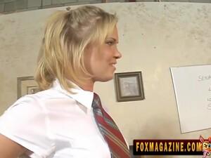 Sasha Knox Takes Off Her School Uniform And Gets Fucked