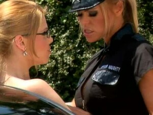 Sexy Police Officer Punishes A Bad And Sexy Driver