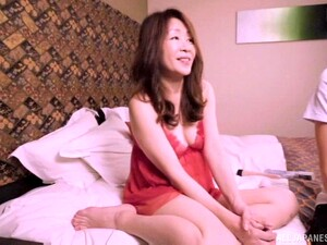 Mature Japanese Woman Attacked By A Pussy Craving Lover